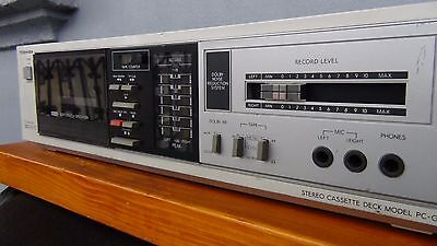Vintage Cassette Recorder, Toshiba Stereo Cassette Deck PC-G1 2 Head Dolby B