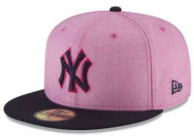 Official MLB 2018 Mother's Day New York Yankees New Era 59FIFTY Fitted Hat