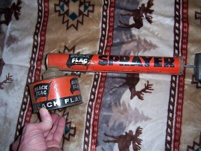 Vintage Black Flag Bug Sprayer