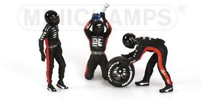 Pit Stop Williams Gomme Posterire 1//43 343100053 Modellino