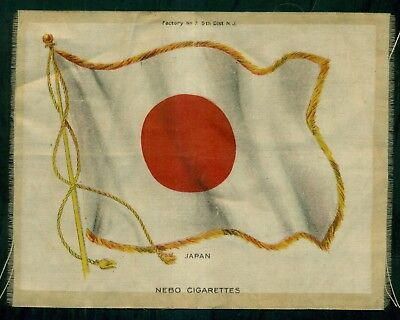 "1910 Nebo Cigarettes Jumbo ""Japan Flag"" Silk"