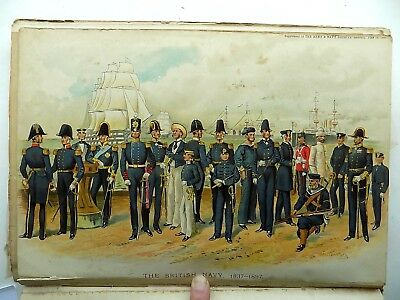 1889 Types British Army 60 Simkin Prints Engravings Army Navy Military Book
