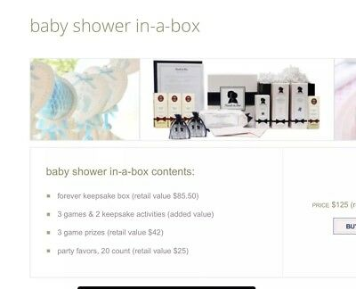 Noodle & Boo Baby Shower In A Box ($125 Value)