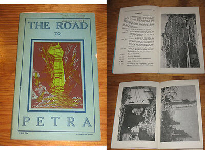 The Road to Petra: a Short Illustrated Guide to Transjordan 1957