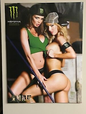 Monster Energy Sexy Poster