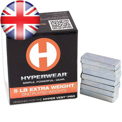 Hyperwear Booster Pack for Hyper Vest PRO Weighted Vests - Set of 35 Extra...