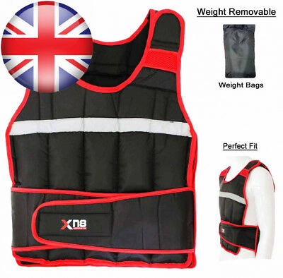 Weighted Vest 5,10,15,20Kg Weight Loss Training Running Adjustable Jacket...