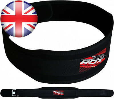 RDX Gym Weight Lifting Neoprene Belt Back Training Support Fitness Exercise...