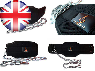 Weight Dipping Belt with Chain, Dip for Weighted Pull Ups and Dips by Fire...