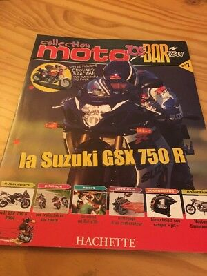 Joe Bar Team fasicule n° 1 collection moto Hachette revue magazine brochure