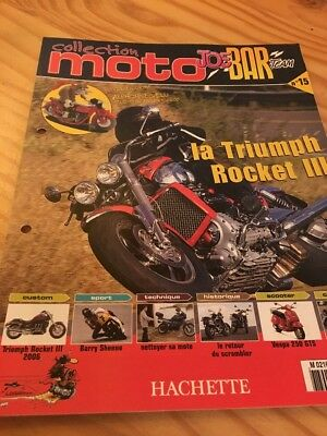 Joe Bar Team fasicule n° 15 collection moto Hachette revue magazine brochure