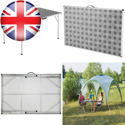 Large//120 x 80 x 70 cm Coleman Folding Camping Table-Grey