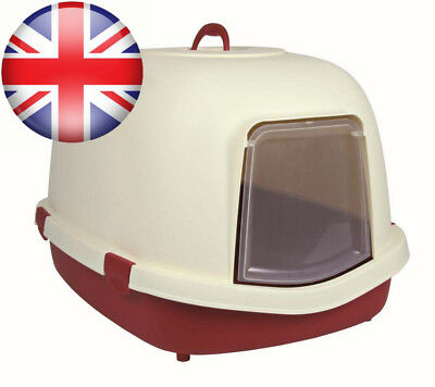 Trixie Primo Cat Litter Tray with Hood/Flap/Handle, X-Large, 71 x 56 47 cm,...