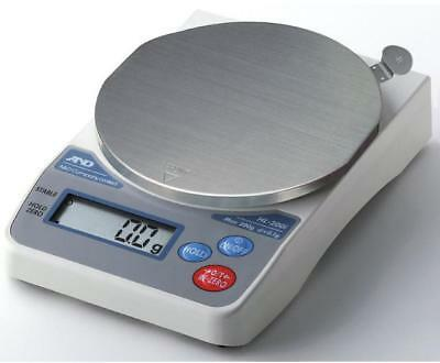 A&D HL-200iVP Lab Balance,Compact Portable Scale 200 g X0.1g,Battery operated ac