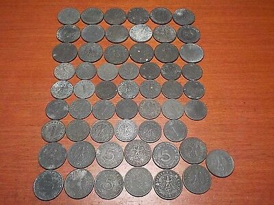 Mixed Lot of Circulated Coins from German  Third Reich