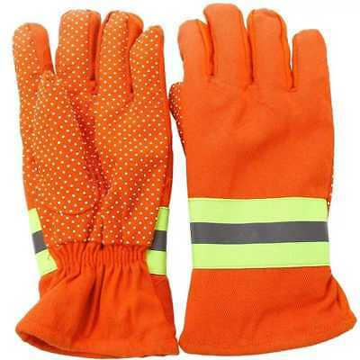 PRO Firefighting Gloves Fire Proof Heat Proof Anti-fire Gloves Non-slip.US
