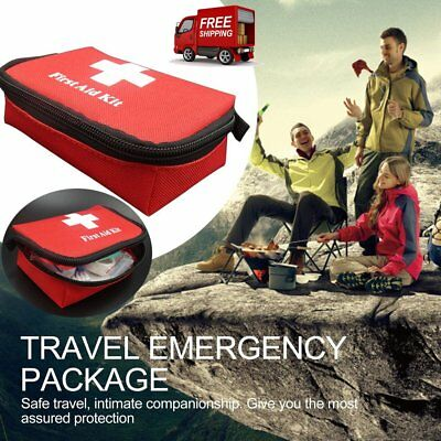 Travel Emergency Survival Bag Mini Portable First Aid Kit For Home & Outdoor JLY