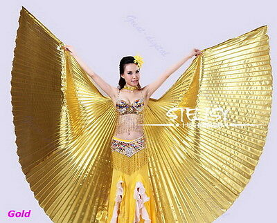 Egyptian Egypt Belly Dance Dancing Costume Isis Wings Dance Wear Wing JLY