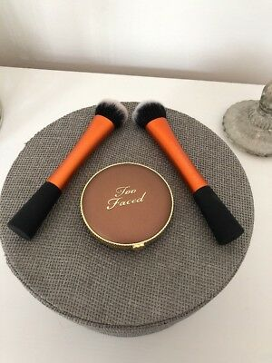 Too Faced Milk Chocolate Soleil Matte Bronzer Neu Real Techniques Beauty Blogger