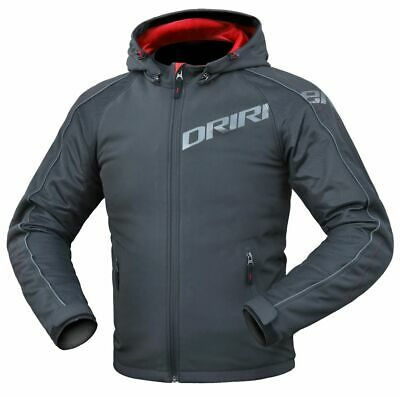 DriRider Grid Sports commuting Touring Motorcycle Jacket Black red ALL SIZES