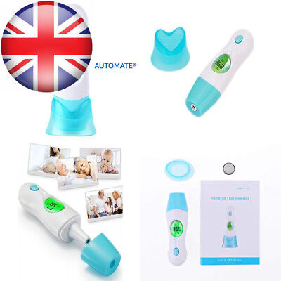 4 In 1 Ear and Forehead Thermometer Dual Mode,Medical Digital for Baby...