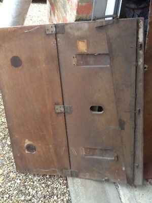 Vintage Wooden Paper Guillotine