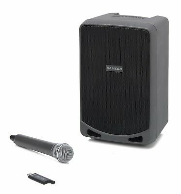 Samson Expedition XP106w - Portable PA w/ Wireless Microphone and Bluetooth