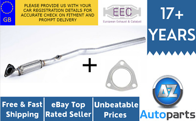Vauxhall Zafira Astra G 1.8 Eng Z18XE 00-05 Exhaust Front Flexi Pipe + Gasket