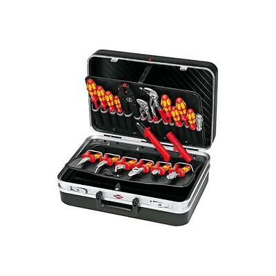 """Tool Case """"Electric"""" + 20 Electrical Tools Knipex Brand Electrician Data Trade"""