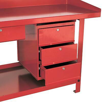 Sealey 3 Storage Drawer Unit For AP10 And AP30 Series Garage Work Benches - AP3