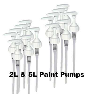 Kids Paint Set Pumps Fits 2L & 5L Kids Paint Bottles, 38mm Standard Thread