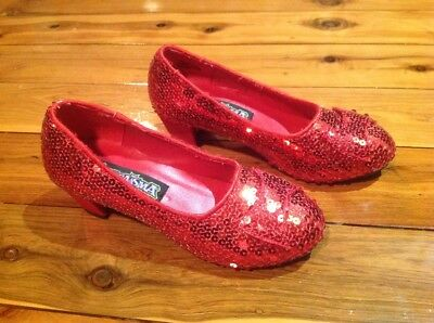 Funtasma Dorothy Ruby Slippers Excellent condition. Inner Sole 20cm. Size 12-1.