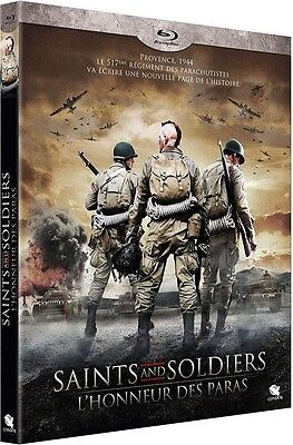 Blu Ray  //  SAINTS and SOLDIERS : L'honneur des Paras  //  NEUF sous cellophane