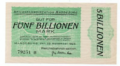 prs171  Halle, Reichsbahndirektion, 5 Bio, 22.11.23