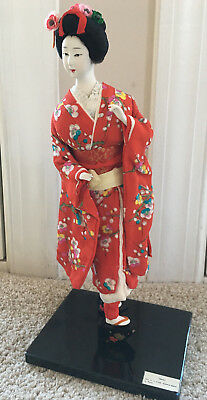 """Nice Vintage 1960s 15"""" """"Maiko"""" Japanese Doll Made in Japan by Nishi & Co"""
