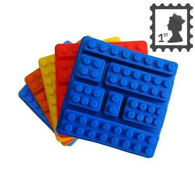 Lego Mould silicone cake mould FREE 1st Class Post!!