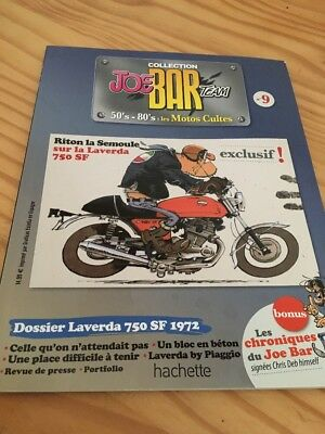 Joe Bar Team n° 9  collection moto revue magazine 50's 80's les motos cultes