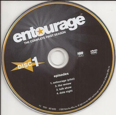 Entourage HBO (DVD) Season 1 Disc 1 Replacement Disc U.S. Issue Disc Only