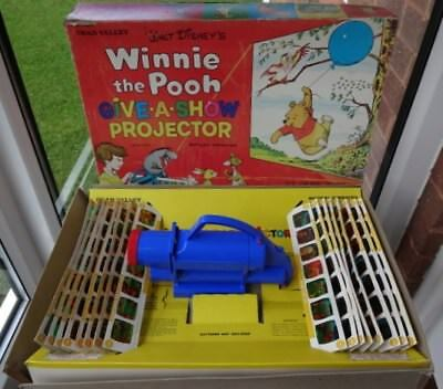 Winnie The Pooh Battery Operated Give-A-Show Projector