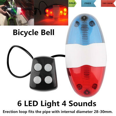 2018 KIDS CYCLING Bike Electric Horn 4 Sounds Bicycle Police Siren