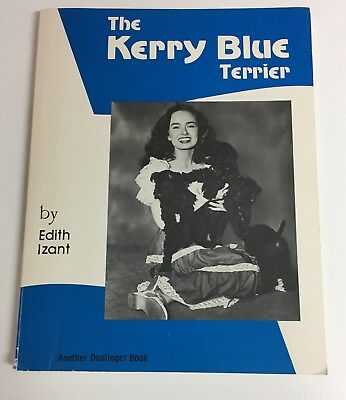 The Kerry Blue Terrier Book 1982 By Edith Izant