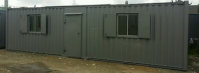 32ft x 10ft Portable Cabin Portable Office Site Office Welfare Unit Shipping