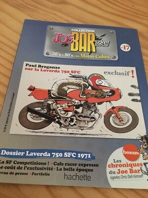 Joe Bar Team n° 17  collection moto revue magazine 50's 80's les motos cultes