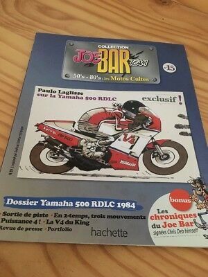 Joe Bar Team n° 15  collection moto revue magazine 50's 80's les motos cultes