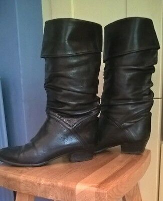 Child's cuffed pirate boots, size 37,  excellent condition