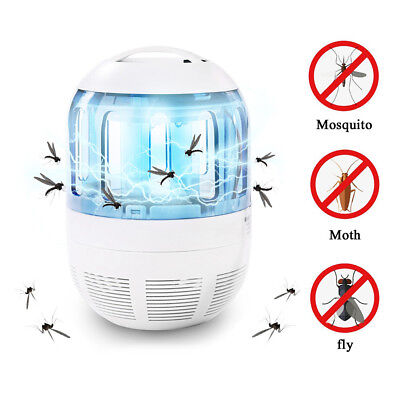 2018 Mosquito Trap Insect Killer UV Light Lamp With 360 Degree Escape Proof Mesh