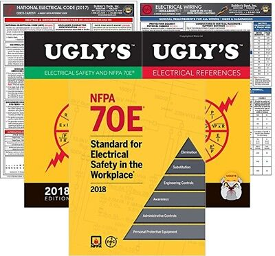 2018 NFPA 70E Standard for Electrical Safety in Workplace, Paperback,  Package