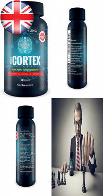 iCortex - Natural Nootropic Supplement for Cognitive Brain Vitamins | Neuro...