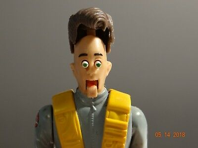 1987 Kenner: The Real Ghostbusters: Peter Venkman with Fright Features