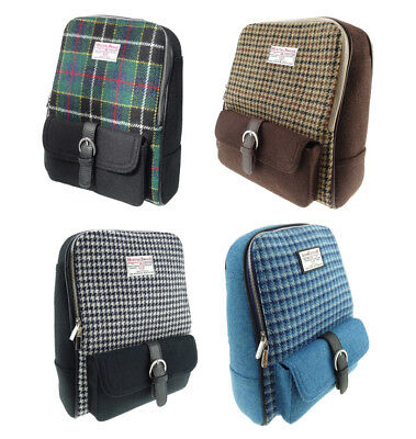 9aebd361f73 New Ladies Genuine Harris Tweed Two Tone Backpack Bag - Available in 4  Colours
